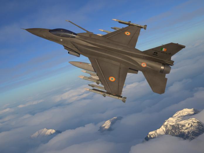 ▲美國洛克希德馬丁公司推出F-16戰機的全新升級版本,稱為F-21戰機,意圖爭取印度百架多功能戰機訂單。(圖/洛克希德馬丁)