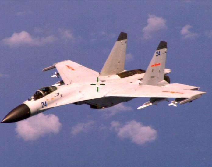 抗議美部長訪台?共機越海峽中線 國軍防空飛彈全程監控