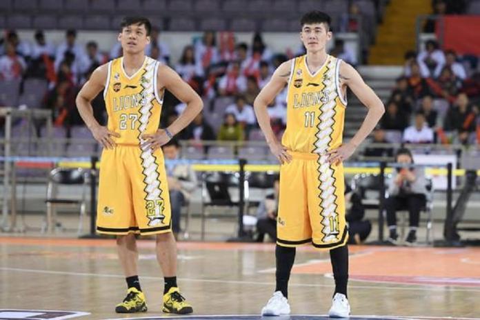 ▲CBA浙江廣廈同時擁有兩名台將林志傑(左)、劉錚。(圖/取自林志傑臉書)