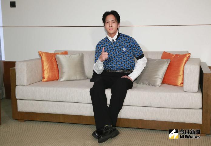 ▲南韓男子團體VIXX成員RAVI。(圖/記者葉政勳攝 , 2019.04.05)
