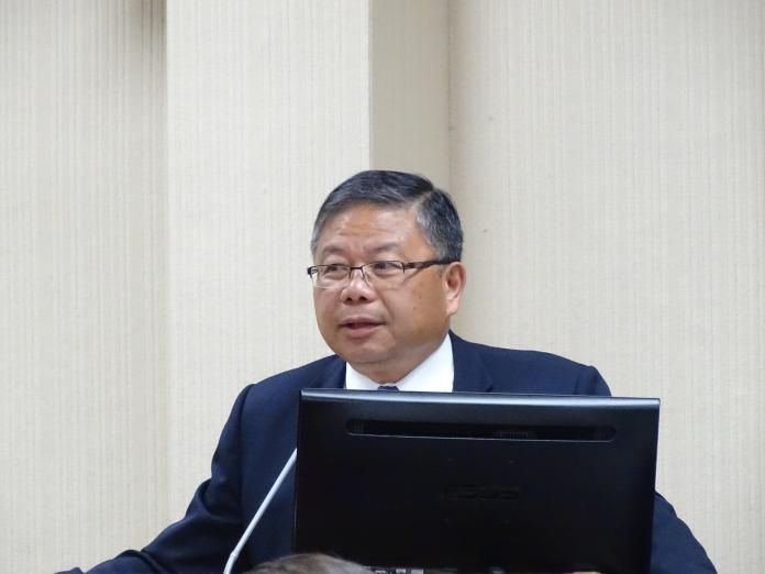 ▲國防部副部長張冠群。(圖/記者呂炯昌攝, 2019.4.8)