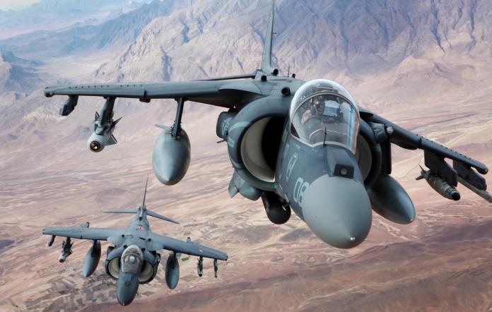 ▲美軍陸戰隊決定延後AV-8B攻擊機除役。(圖/美軍陸戰隊)