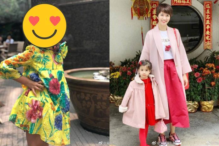 <b>梁詠琪</b>曬4歲愛女近照 神仙顏值讓網友讚嘆