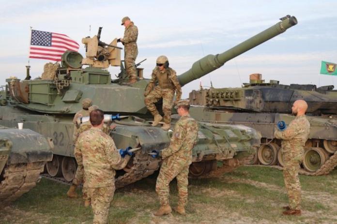 ▲美軍M1A2戰車。(圖/美國陸軍)