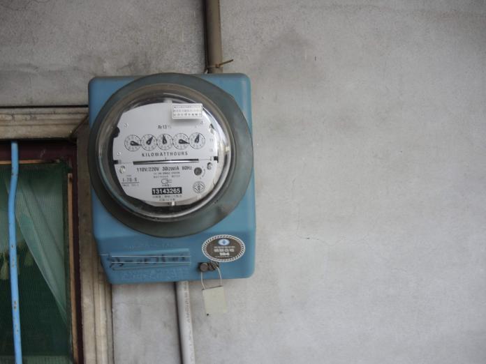 ▲台電公司用戶電表是委外抄表。(圖/記者陳雅芳攝,2019.04.11)