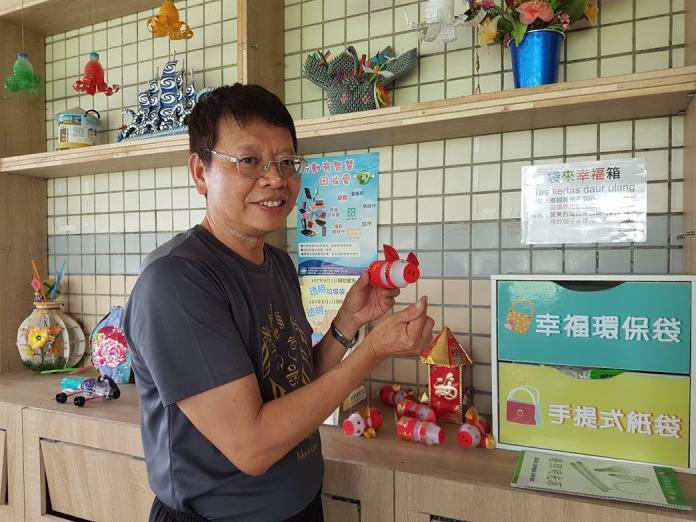古亭社區落實資源回收 創意做環保