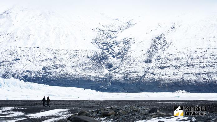 ▲電影《星際效應》的酷寒星球場景,拍攝於瓦特納冰川國家公園。(圖/記者謝美伶攝)