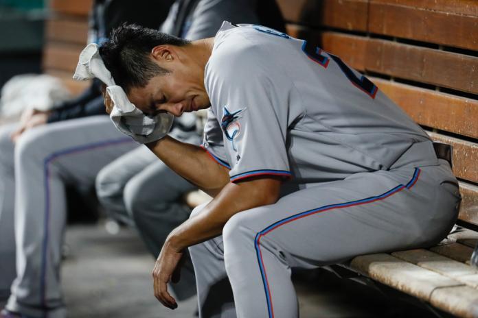 MLB/陳偉殷無失分又破功 滿壘殘局退場掉1分
