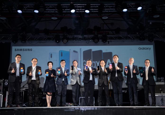 十款新機齊亮相 看<b>台灣三星</b>在台行銷策略與新機發展趨勢