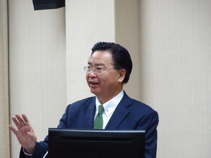 ▲外交部長吳釗燮