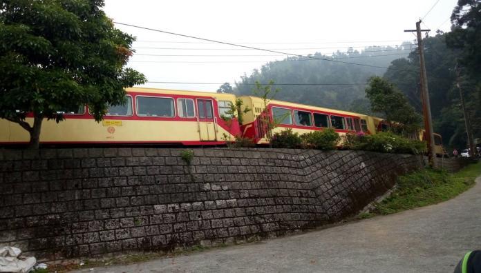 受花蓮地震影響 阿里山森鐵暫時停駛