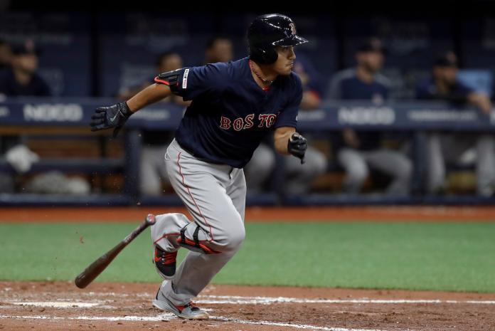 MLB/林子偉敲本季首發長打 為紅襪打回本場第1分