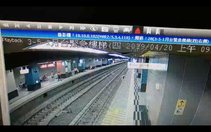 影/一月兩起旅客摔落月台 鳳山站將加強注意旅客安全
