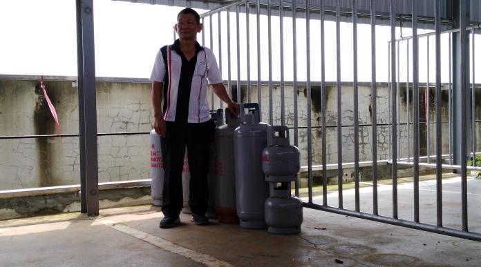 雲林北港唯一合法 瓦斯儲存廠啟用