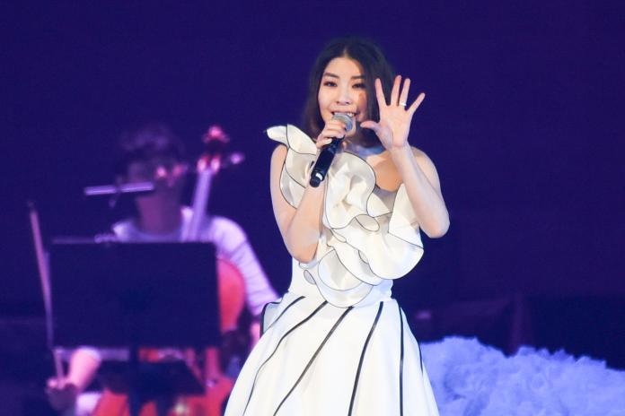 許茹芸演唱會。(圖/記者陳明安攝,2019.04.20)