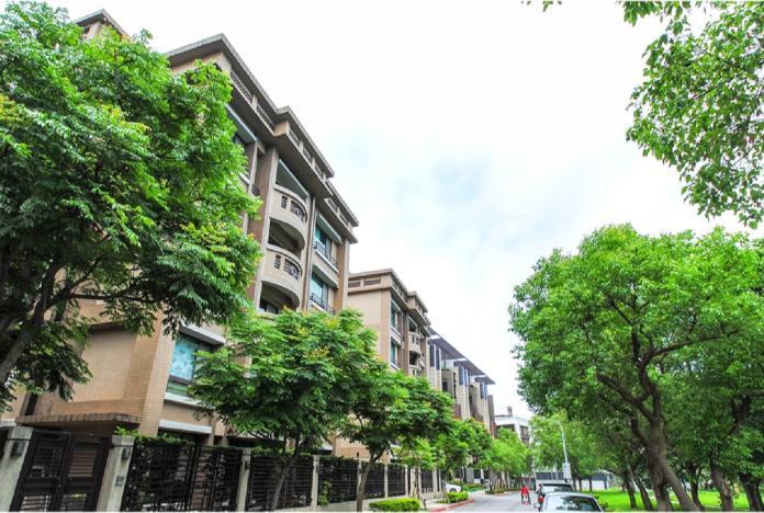 內湖四期重劃區是知名的美式街廓社區。(圖/信義房屋提供)