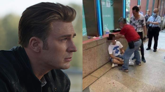 看完《復仇者4》在戲院門口<b>爆雷</b> 男子遭民眾痛毆