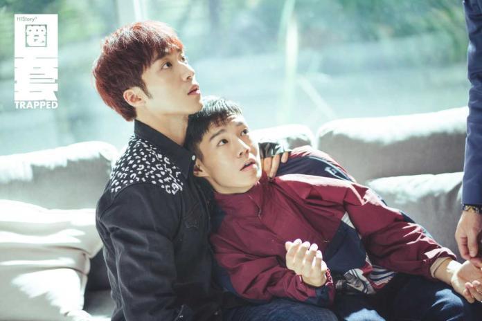<br> ▲卞慶華(左)與陳廷軒在《圈套》飾演一對CP。(圖/CME提供)