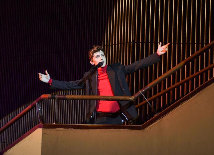 ▲特洛伊(Troye Sivan)在台北國際會議中心舉辦演唱會。(圖/理想國提供)