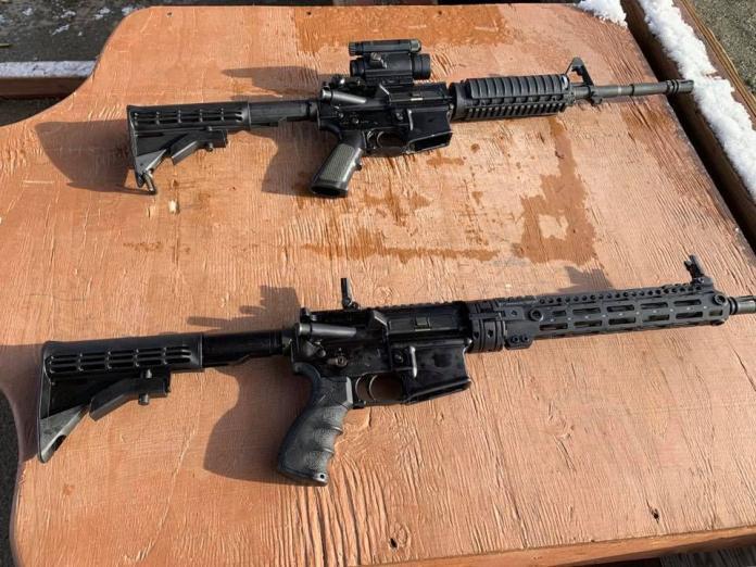 ▲GAU-5A自動步槍。(圖/3rd Wing臉書)