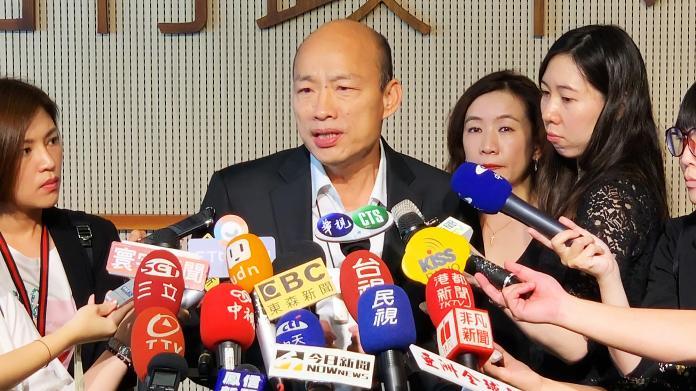▲高雄市長韓國瑜。(圖/記者郭俊暉攝2019.04.30)