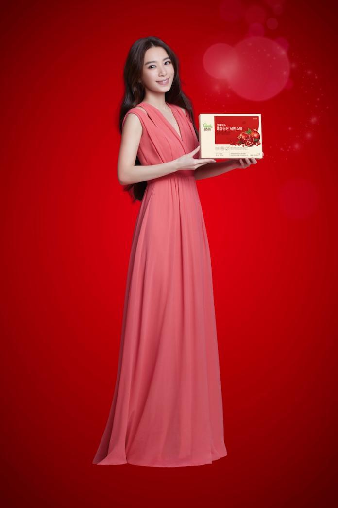 【新聞圖片】母親節前夕,全球第一人蔘品牌正官庄宣布由全民閨蜜Hebe田馥甄擔任2019年度