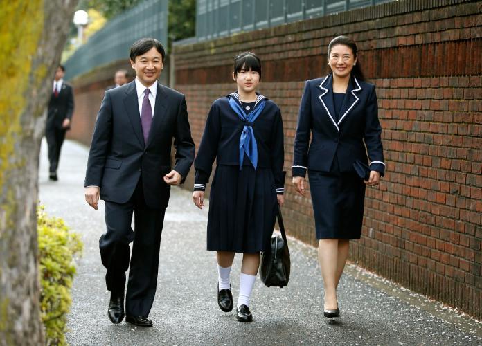 Princess Aiko, Prince Naruhito, Crown Princess Masako
