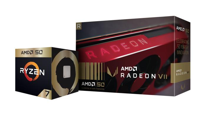 玩家必敗 AMD五十周年簽名版黃金處理器與顯示卡開賣