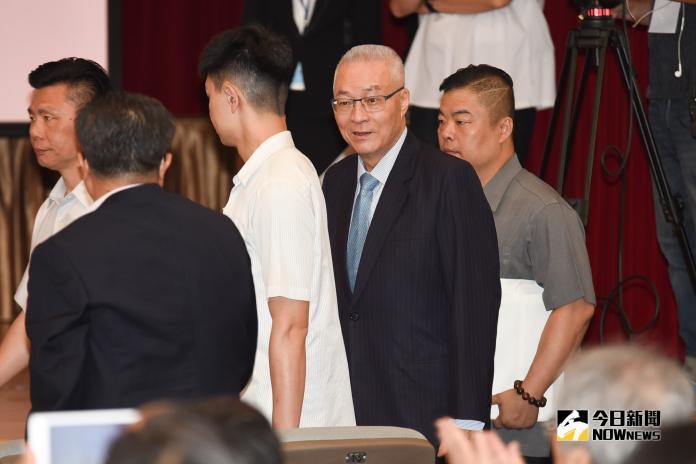 吳敦義出席競爭力會議發表演講。(圖/記者陳明安攝,2019.4.30)