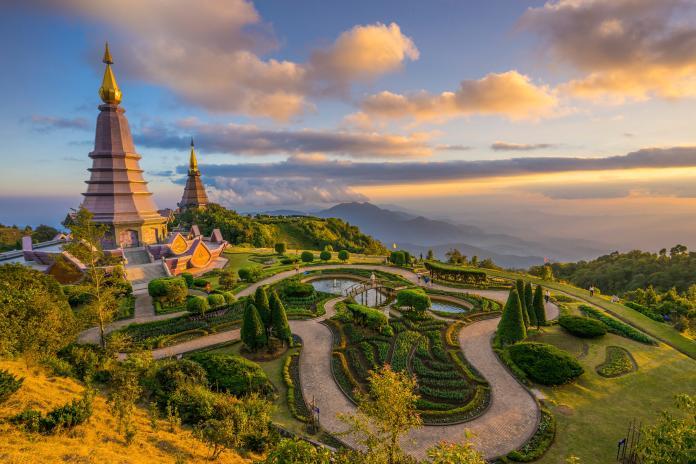 4-1. 泰國北部的古城「清邁」,擁有慢活的生活步調,以及城市中有多間優質的度假酒店選擇,十分適合旅客前來進行SPA度假之旅。(圖片由Booking.com提供)