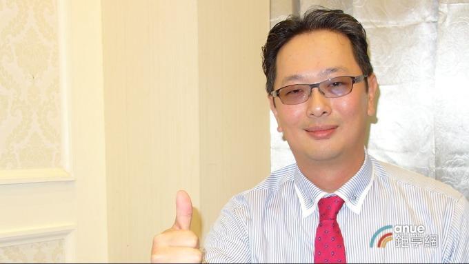▲ 廣運機械集團執行長謝明凱。(鉅亨網記者張欽發攝)