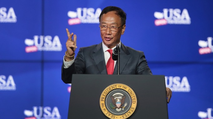 ▲ Terry Gou had planned to retire after 50 years of work.
