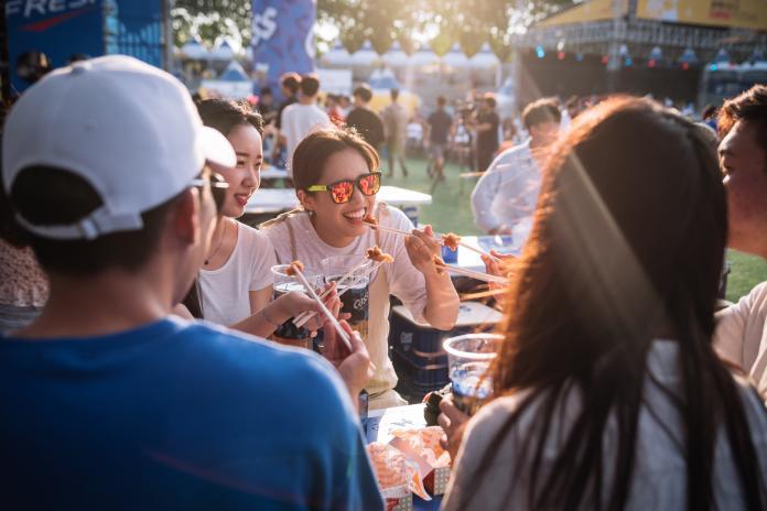 ▲大邱不僅有知名的天燈節,7月更有炸雞啤酒節揚名海內外。 (圖/韓國大邱廣域市提供)