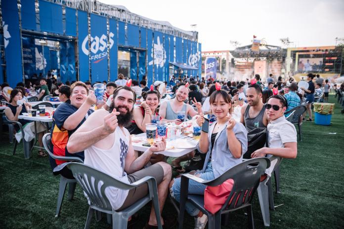 ▲大邱7月的炸雞啤酒節揚名海內外,夏日歡樂的氣氛每年都吸引許多國內外遊客參與。(圖/韓國大邱廣域市提供)