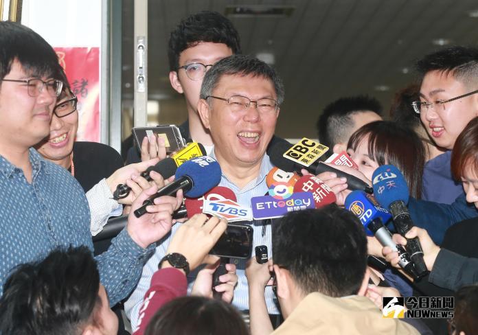 ▲台北市長柯文哲不當網紅改打柯P品牌。(圖/記者葉政