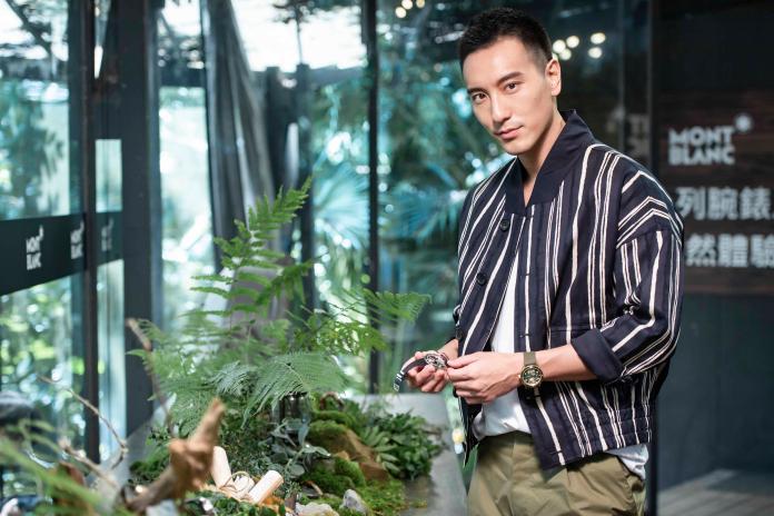 王陽明帥挺萬寶龍急返台 分享熱愛大自然的男性本色