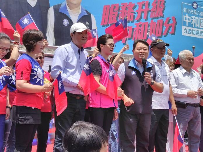 立委初選出招 新北市議員邱烽堯成立挺韓參選總統後援會