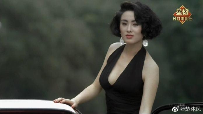 ▲張敏在經典港片《賭聖》中飾演「綺夢」一角。(圖/楚沐風微博)
