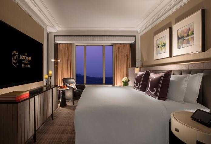 <br> ▲澳門倫敦人酒店規畫 594 間套房。(圖/金沙城中心)