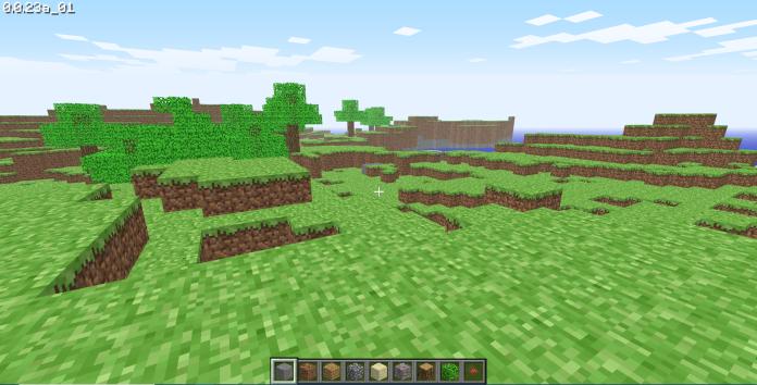 ▲2009年《Minecraft》第一個測試版現在可以透過瀏覽器直接玩。(圖/擷取自遊戲)
