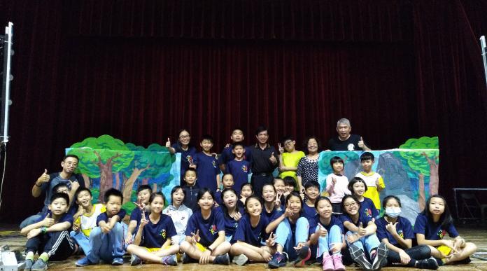 ▲代表雲林縣參加107學年度全國學生創意戲劇比賽,榮獲優等佳績。(圖/記者洪佳伶攝,2019.05.09)