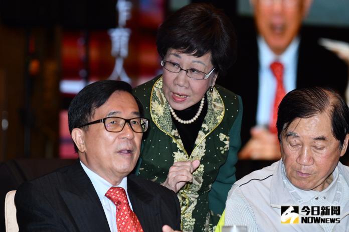 ▲前副總統呂秀蓮宣布代表獨派政黨喜樂島聯盟投入 2020 總統選戰。(圖/ NOWnews 資料照片)