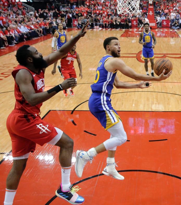 NBA/稱聯盟防守太軟 前球星:你不能對哈登和柯瑞呼吸
