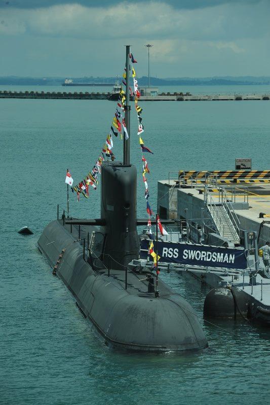▲新加坡海軍潛艦「劍客號」。(圖/新加坡國防部)