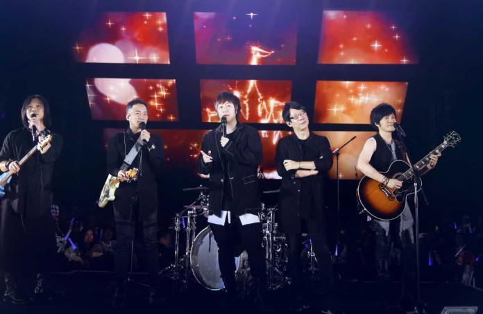 ▲五月天在香港舉辦演唱會。(圖/相信音樂提供)