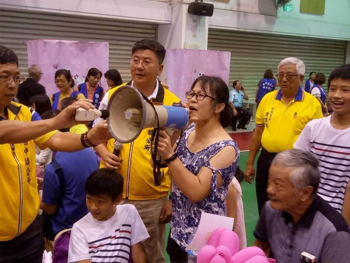 <br> ▲田中鎮模範母親表揚活動,今年還安排了「媽咪我愛妳大聲公比賽」。(圖/記者陳雅芳攝,2019.05.11)