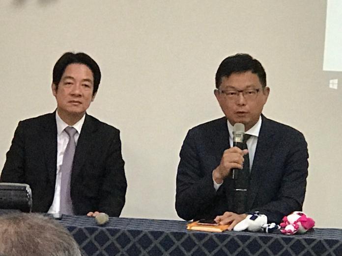對於經濟議題,前行政院長賴清德13日表示,相信朝野政四都是愛台灣的,但經濟議題大家還是應該要坐下來好好談。(圖/記者林人芳攝,2019,05,13)