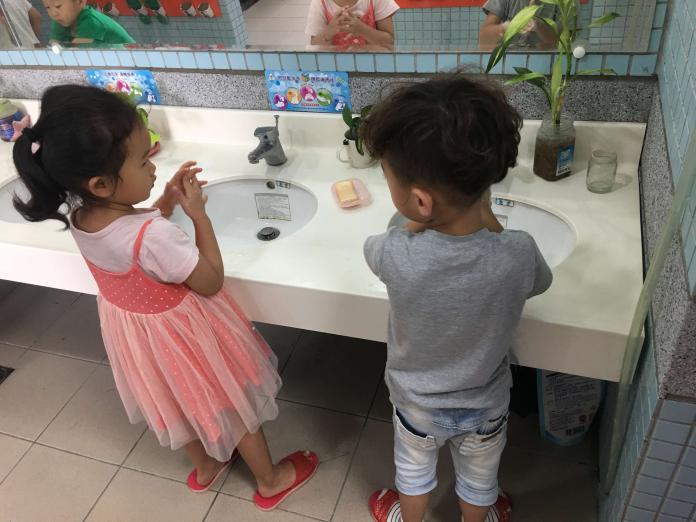 <br> ▲衛生局強調,落時勤洗手是遠離腸病毒的不二法門。(圖/記者陳雅芳攝,2019.05.13)