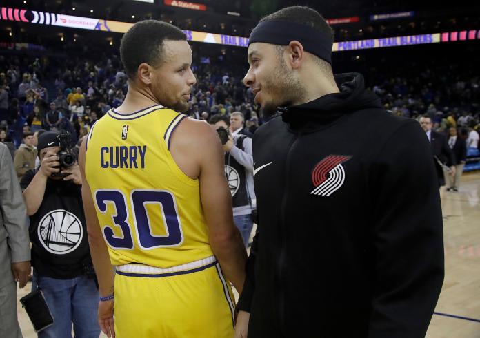 NBA/好想參加復賽!柯瑞放話爭取弟弟的家屬名額
