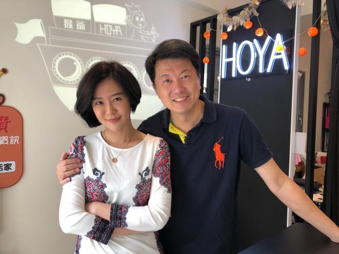 ▲文汶、吳皓昇夫妻檔上《你在大聲什麼啦》分享閨房情趣。(圖/民視提供)